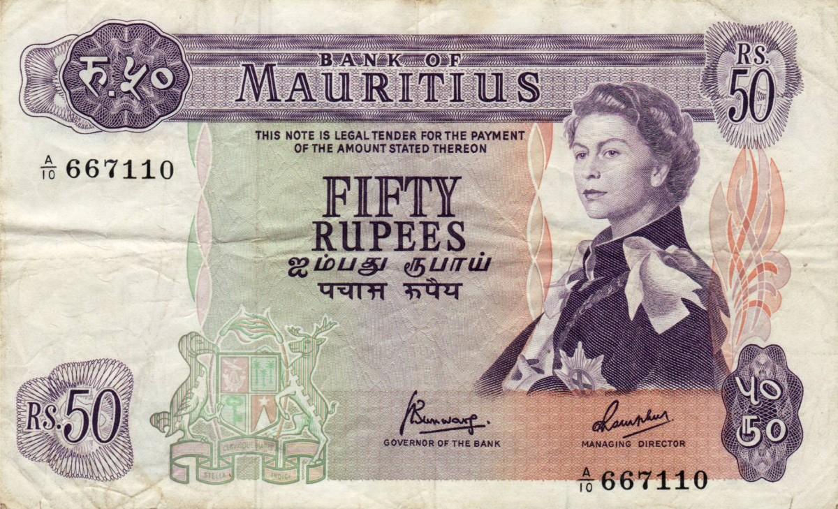 mauritius währung